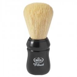 Omega S-Brush S10049 – Pennello da barba 100% fibra sintetica