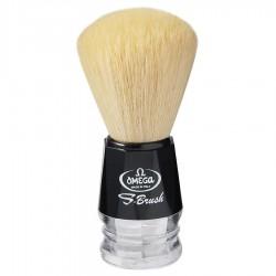 Omega S-Brush S10019 – Pennello da barba 100% fibra sintetica